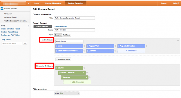 google-analytics-custom-reporting-setup