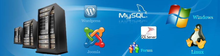 Application web hosting