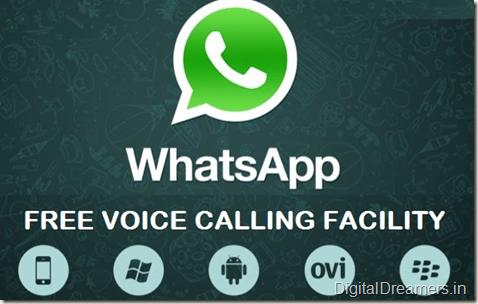Whatsapp Voip Calling