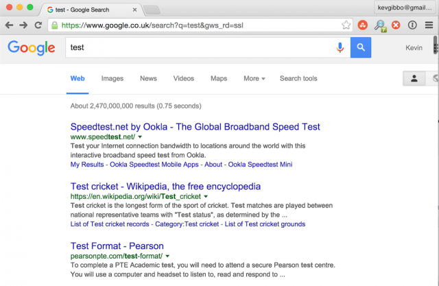 Google Testing Infinite Scroll Search For Search Results