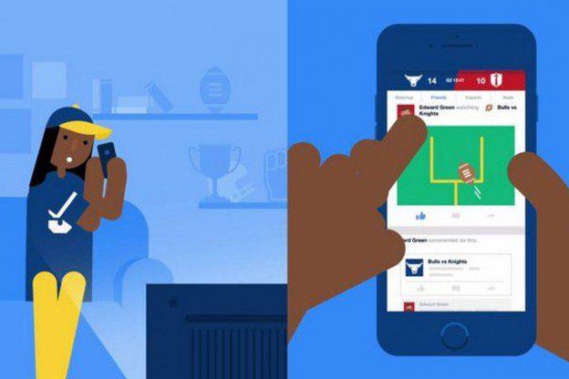 Facebook Introduces Sports Stadium