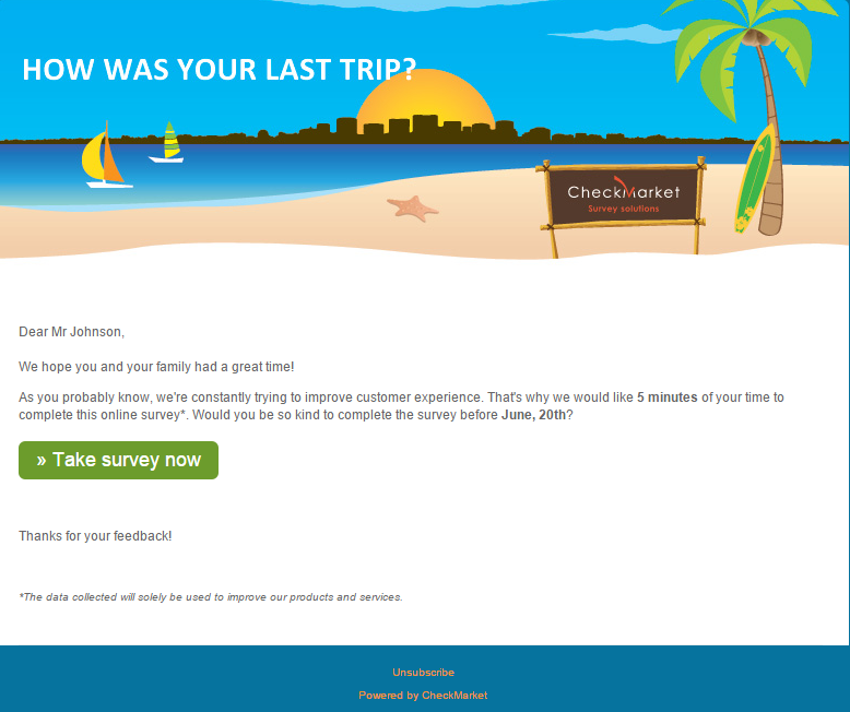 email-survey-template