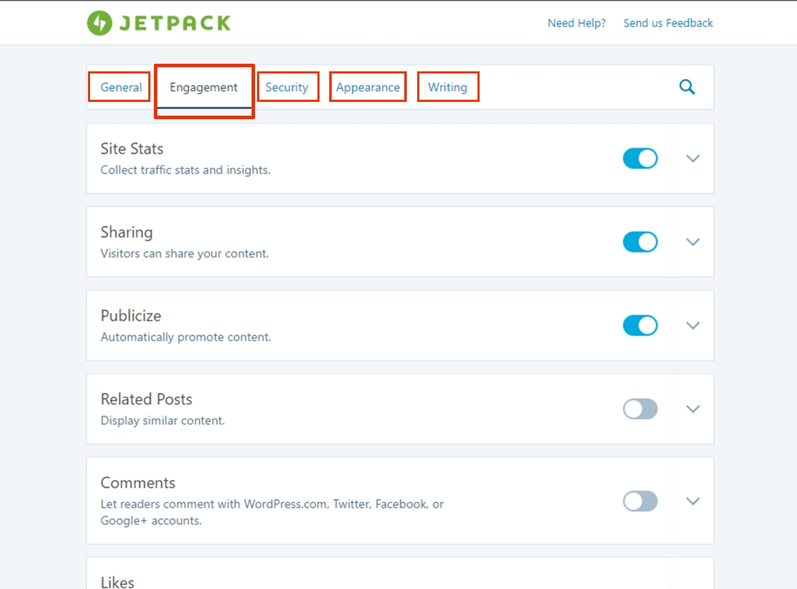 Jetpack-plugin-dashboard