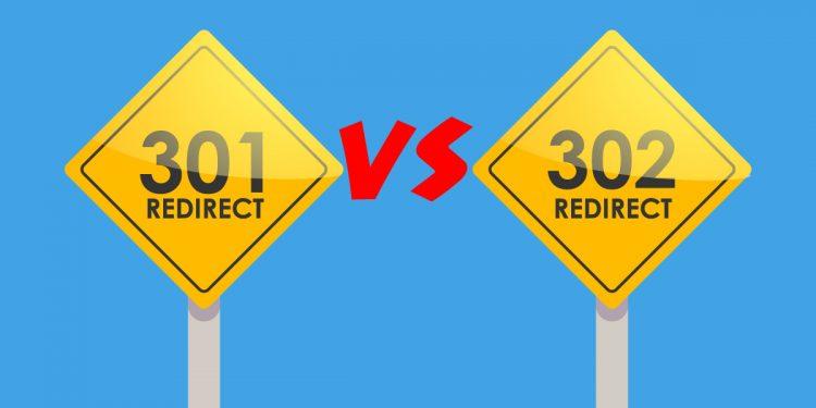 301 vs 302 redirection